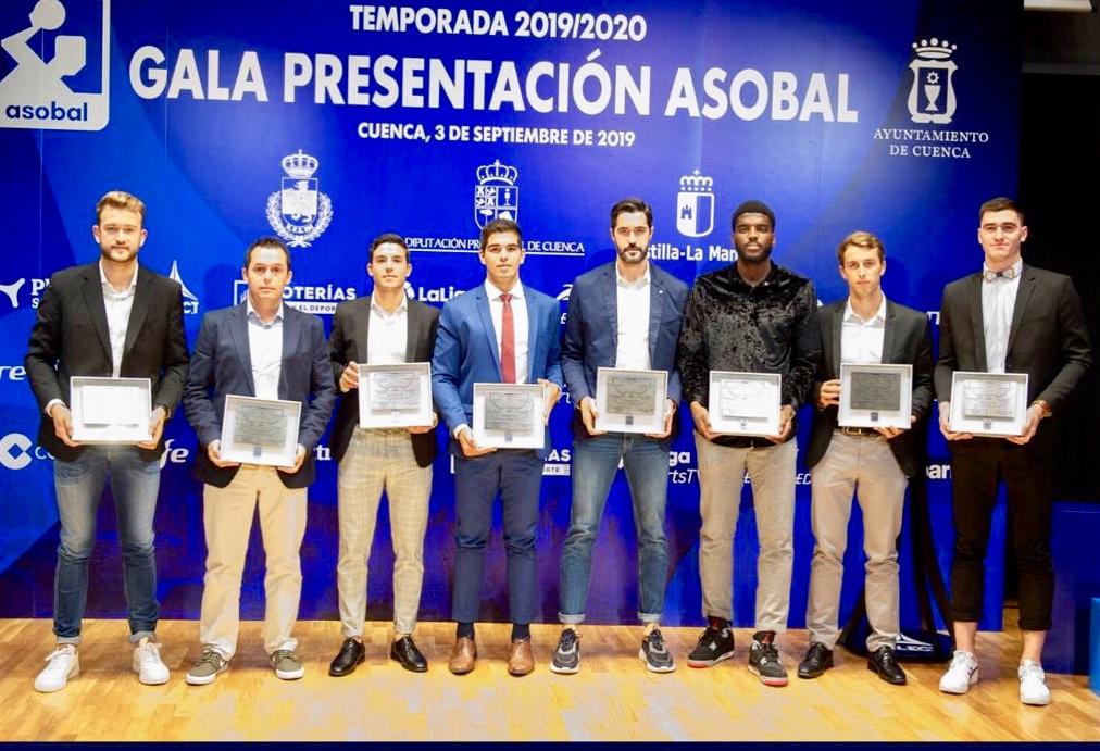 El riosellano Jacobo Cuétara, Mejor Entrenador de la Liga ASOBAL 2018/2019
