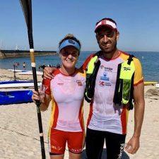Walter Bouzán y Judit Vergés campeones del mundo de Kayak de Mar SS2 Mixto