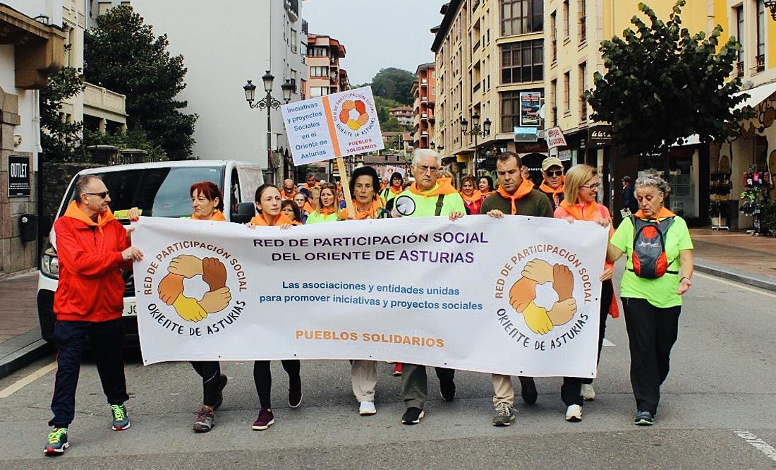 La Consejera de Bienestar Social participa en la Caminata Solidaria Cangas de Onís-Covadonga
