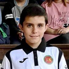 Angel en Iniciación y Pablo en Juvenil, Campeones de Asturias de Bolos