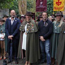 Jacob Petrus (TVE) y Alberto Rodríguez (TPA) nuevos Cofrades de Honor del Queso Gamonéu