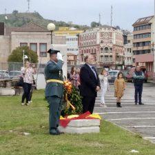 Fiesta del Pilar en el Cuartel de la Guardia Civil de Ribadesella