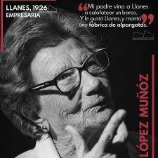 La Asociación DocLlanes continúa con su particular homenaje a las gentes de Llanes