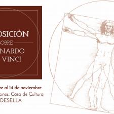 Ribadesella conmemora con una exposición los 500 años de la muerte de Leonardo Da Vinci