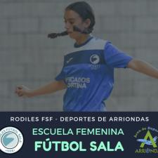 El Futbol Sala Femenino llega al oriente de Asturias de la mano del Rodiles FS