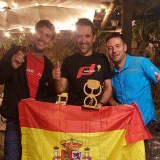 El riosellano Jorge Núñez, otra vez Campeón del Mundo de Descenso de Cañones