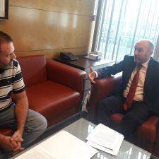 Abeledo y Cofiño pactan iniciar en breve la revisión parcial del Plan General del concejo de Onís