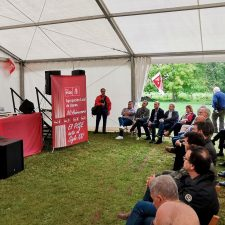 La Fiesta Socialista de La Portilla de Llanes cumple cuarenta años con reproches a la nueva política