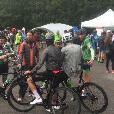 La Subida a Sotres celebrada en la jornada de ayer contó con la participación de 134 cicloturistas