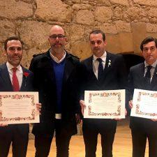 Las Bandos de Llanes recogen en Oviedo el Premio Nacional de Folclore Martínez Torner