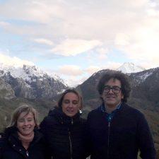La Consejera de Presidencia, Rita Camblor, visita los dos feudos de Foro Asturias en la comarca
