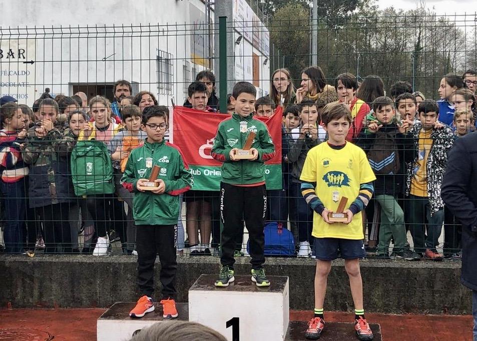 Unos 600 niños de la comarca participan en el Cross Escolar disputado esta mañana en Posada