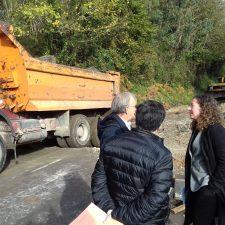 La reconstrucción del hundimiento que mantiene cortada la AS-257 Colunga-Lastres costará mas de 400.000€