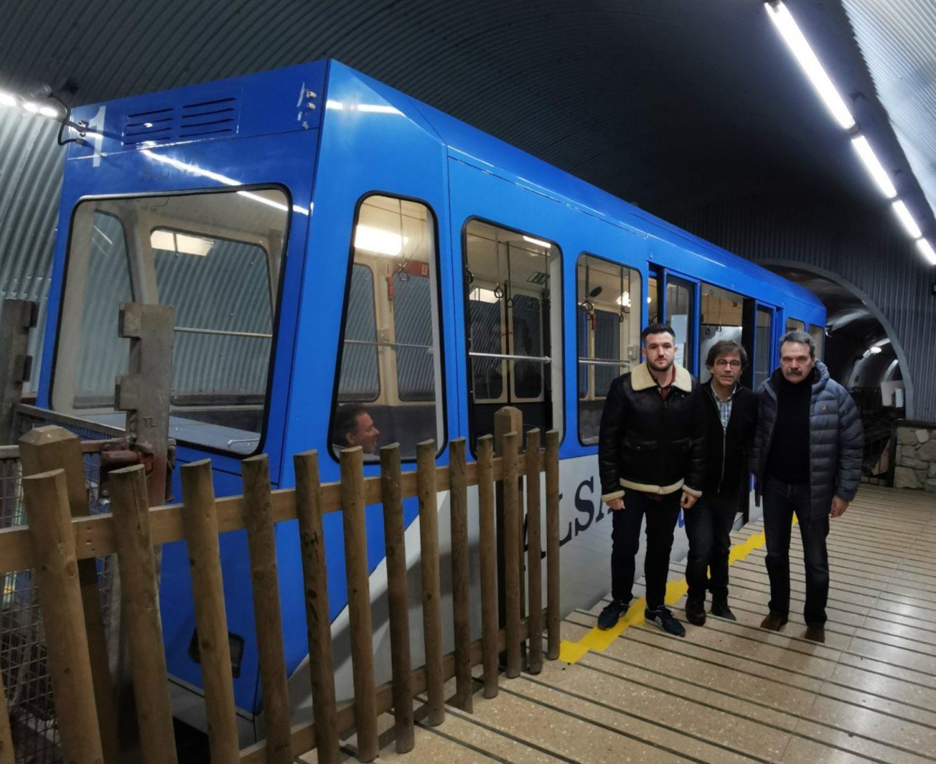 El funicular de Bulnes reanuda este jueves su actividad tras una parada técnica de nueve días