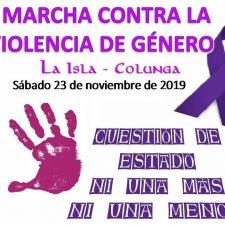 Colunga convoca para el sábado su 5ª Marcha Contra la Violencia de Género