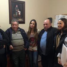 La Consejera de Derechos Sociales visita la Residencia de Ponga