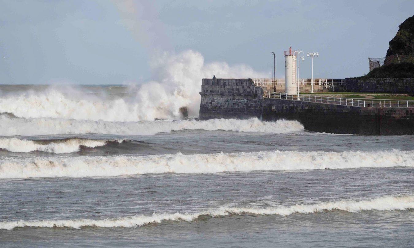 Activada la Alerta 1 por fuertes vientos y olas de hasta 8m en el Cantábrico