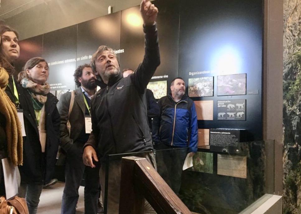 Participantes en el 4º Parlamento Rural Europeo visitan Arriondas, Covadonga y Onís