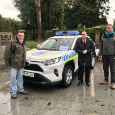 Ribadedeva dota a su Policía Local con un vehículo de primera intervención para emergencias