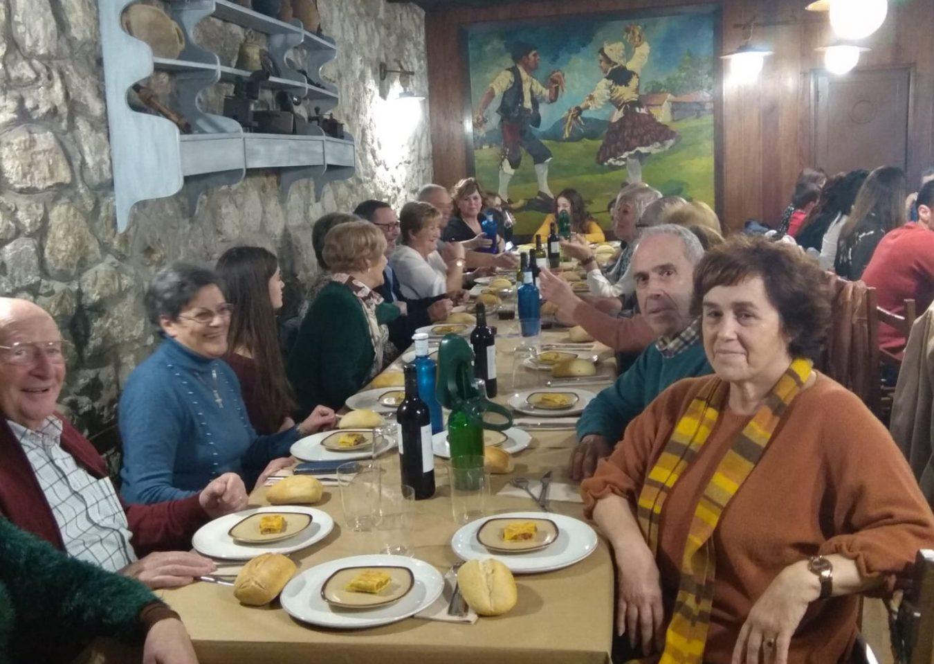 Reunión familiar de los Sánchez-Fuentes en Ribadesella