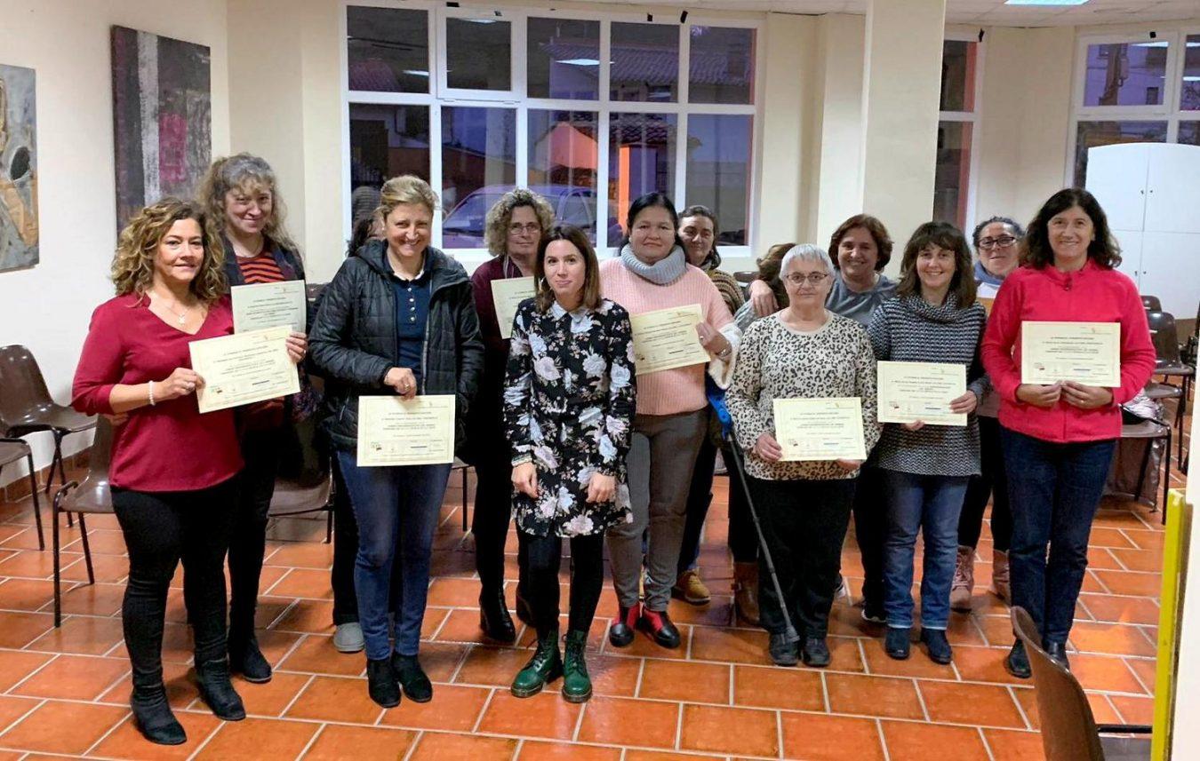 Finaliza en Llanes el curso de Formación Psicoeducativa dirigido a cuidadores de personas dependientes