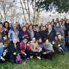 El programa Rompiendo Distancias de Cangas, Amieva y Onís instala su Belén de Cumbres en San Martín de Grazanes