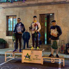Borja Martínez y Andrea Rodríguez se imponen en la Carrera de los Inocentes de Arriondas
