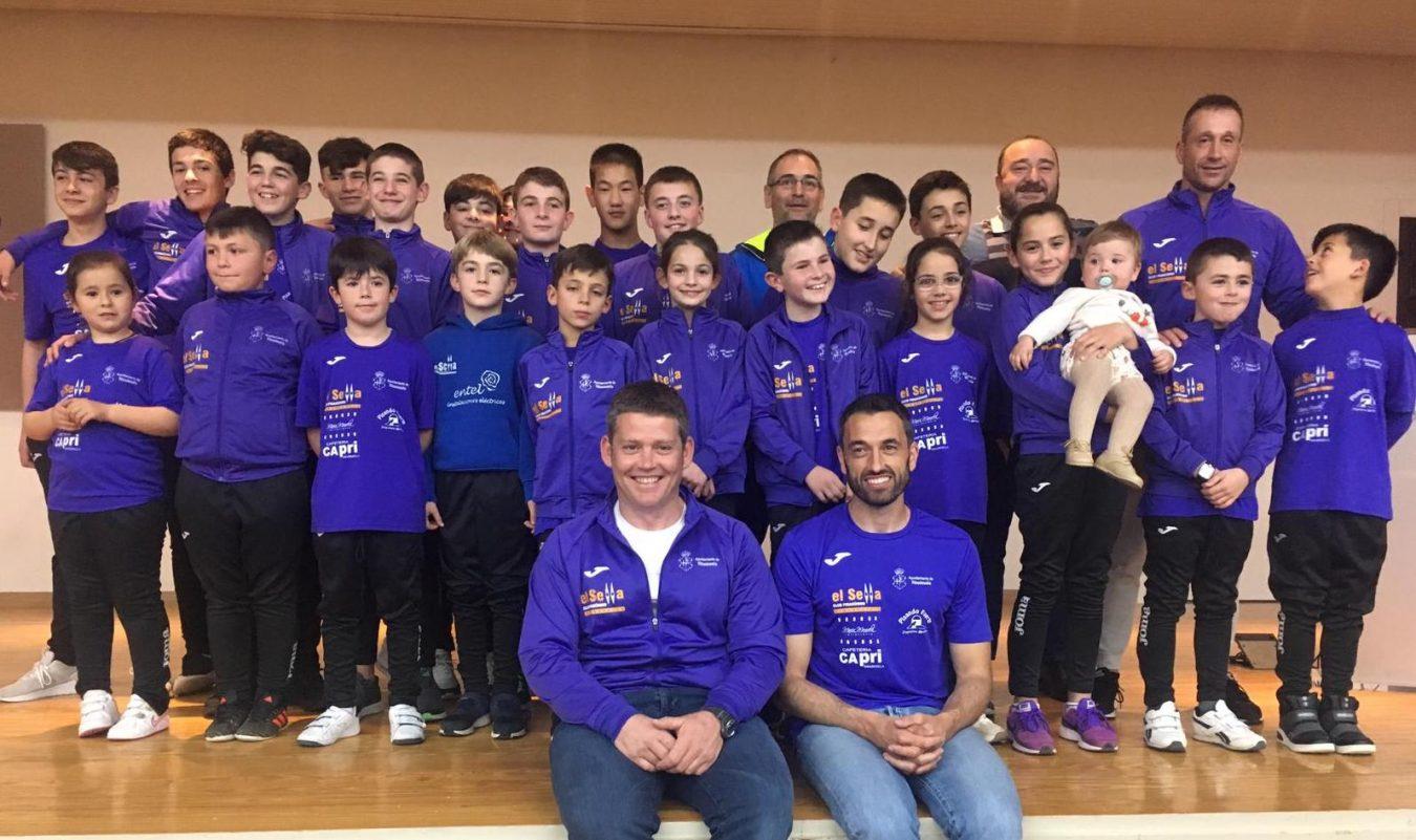 El Club Piragüismo El Sella ofrecerá a La Santina, el próximo lunes, los triunfos de este año