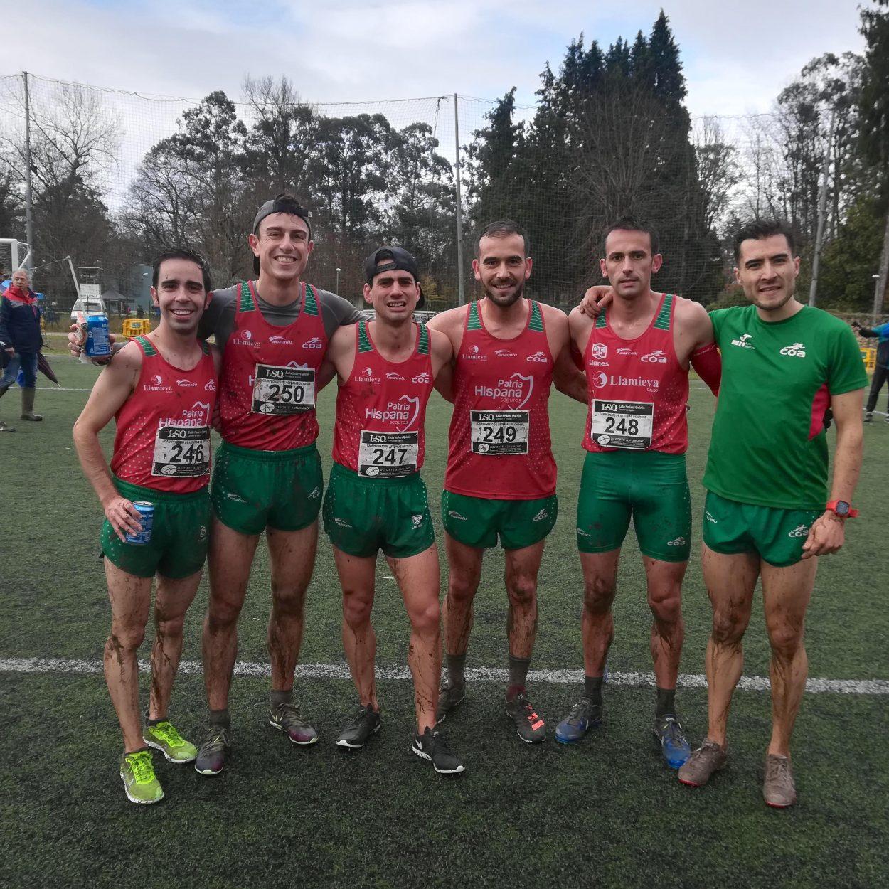 Segundo puesto para el Club Oriente Atletismo en el Campeonato de Asturias de Cross Corto por equipos