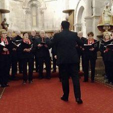 El coro Ecos de Onís en los Conciertos de Navidad del Parador de Cangas de Onís
