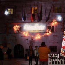 Comienza la Navidad en Ribadesella con el encendido del alumbrado público