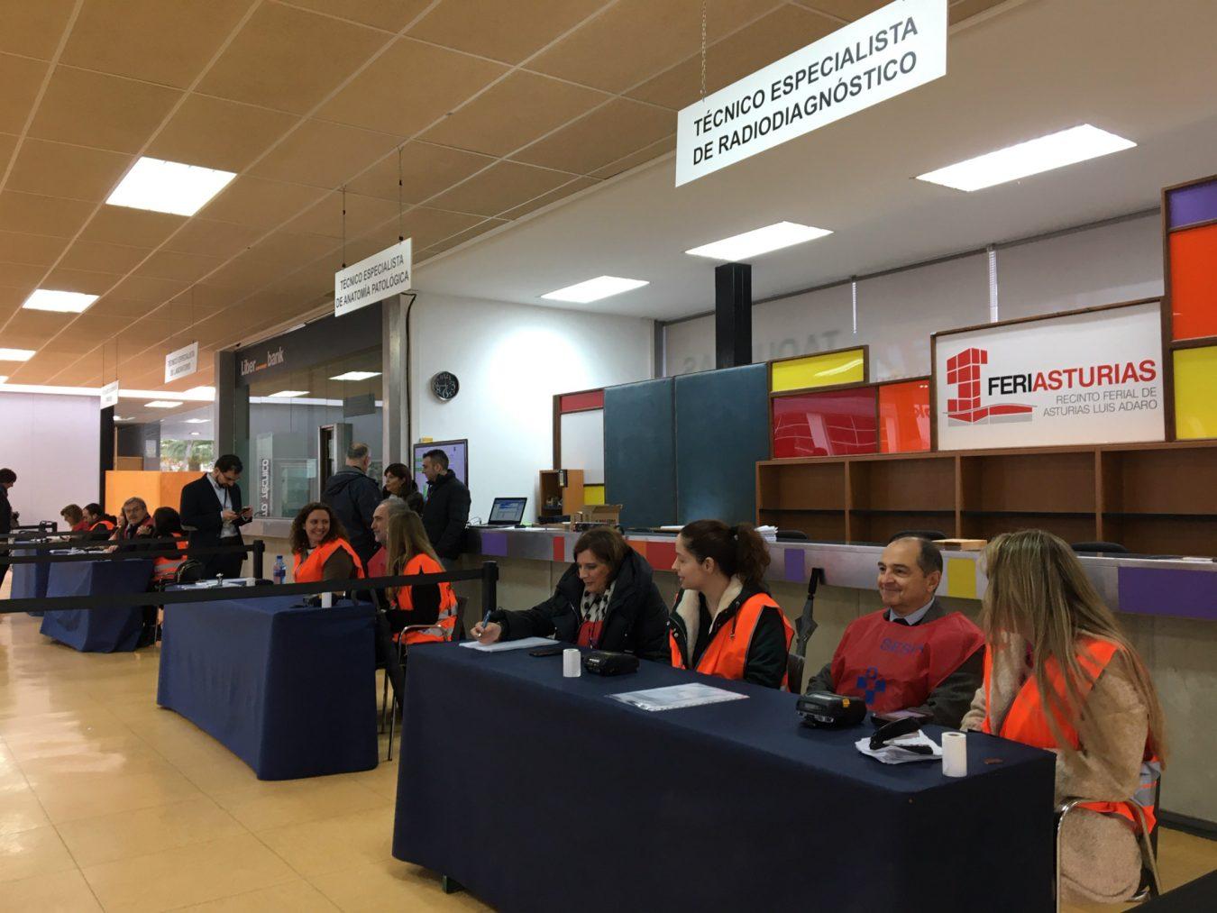 3.890 personas aspiran a cubrir 166 plazas de técnicos del Servicio de Salud del Principado de Asturias