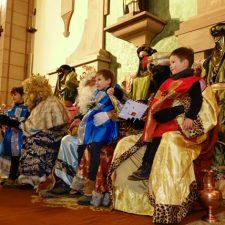 Los Reyes Magos a su paso por Arriondas y Cangas de Onís