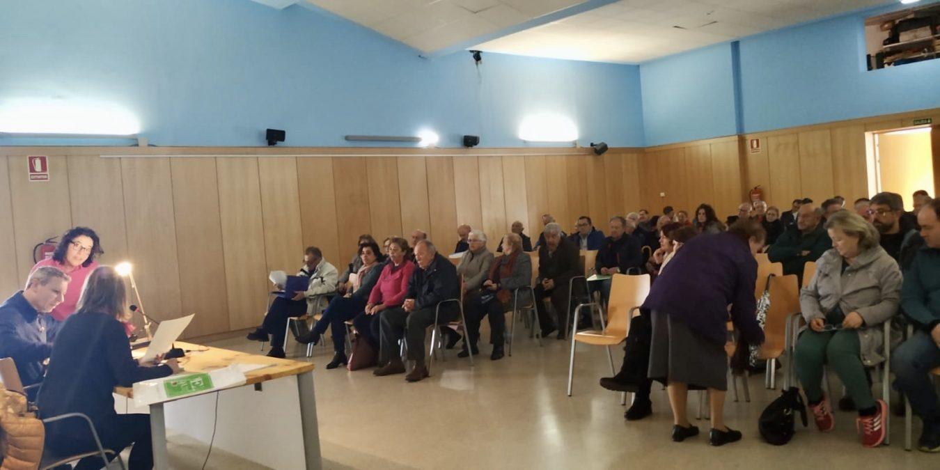 La concentración parcelaria de Sirviella, Villar, Benia y Talavero reduce a 274 las 554 parcelas iniciales