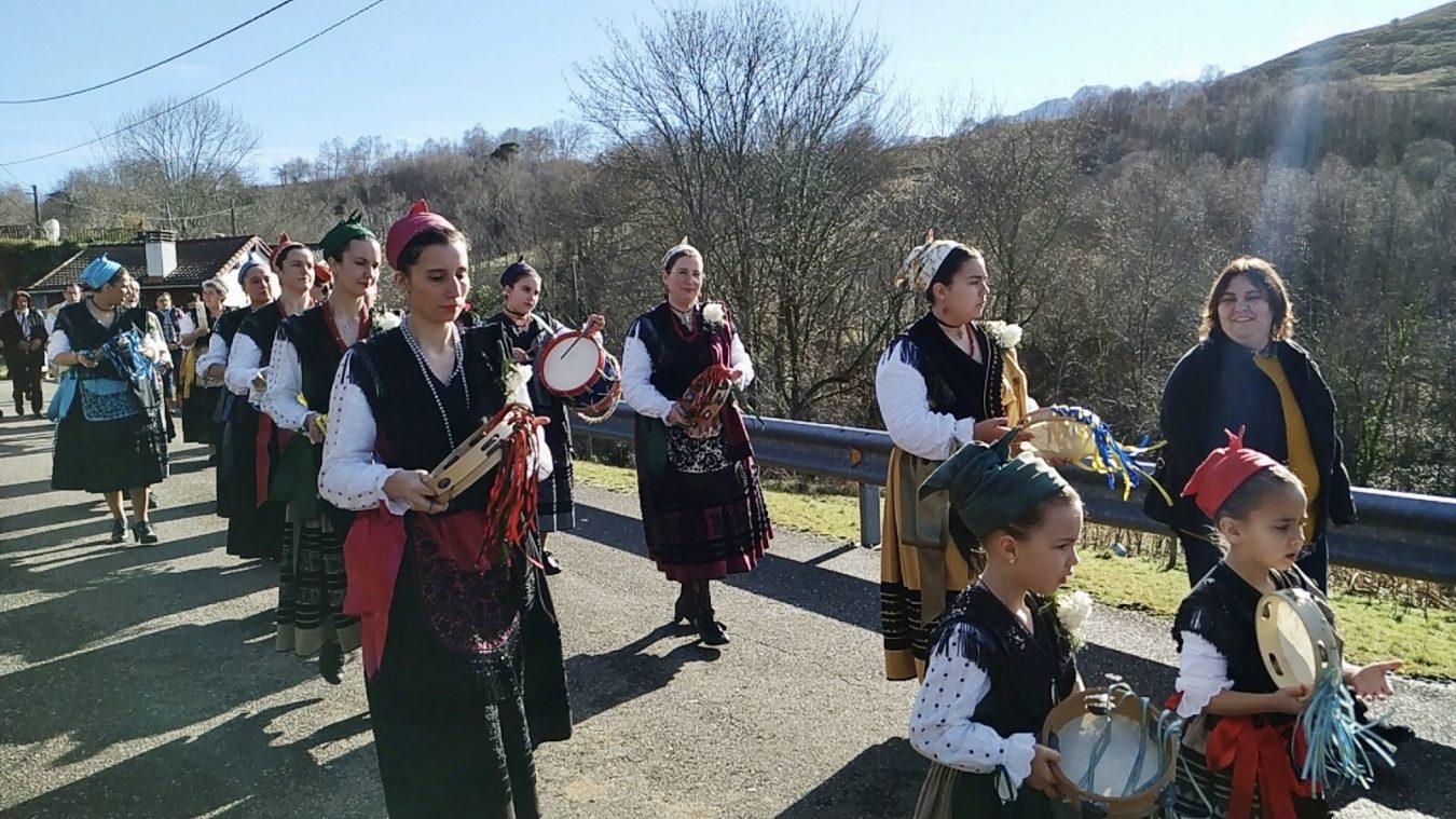 El Pedrosu de Onís celebra su fiesta en honor a San Julián