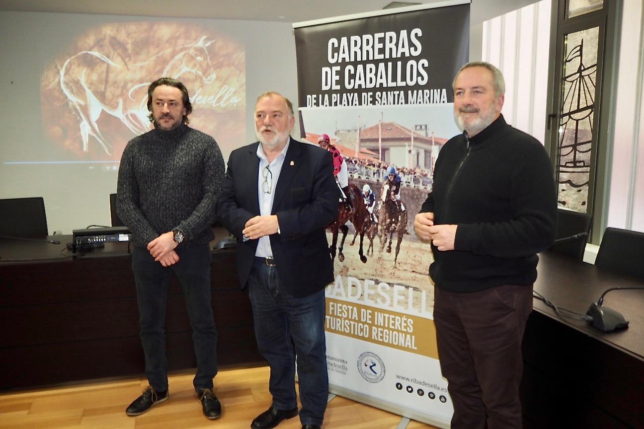 Las Carreras de Caballos de la playa de Ribadesella vuelven a Fitur como imagen turística del concejo