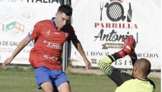 Hugo García un nuevo refuerzo para el Ribadesella CF