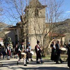 El pueblo cabraliego de Inguanzo también celebra a San Antón