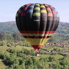 La empresa Volar en Asturias quiere recuperar la Travesía en Globo por los Picos de Europa