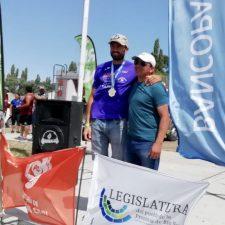 Cuarto triunfo para Walter Bouzán en la sexta etapa de la Regata del rio Negro