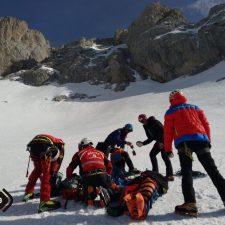 Rescatados dos montañeros heridos en dos accidentes ocurridos en el concejo de Cabrales