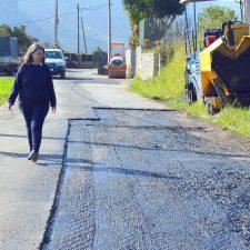 El pueblo de Andrín estrena saneamiento e inicia la mejora de otros caminos
