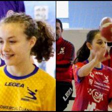 Dos jugadoras del Balonmano Ribadesella al programa de talentos de la Federación Asturiana