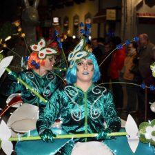 El Jardín de Toriellu y el Circo de Lledías se imponen en el Carnaval de Ribadesella