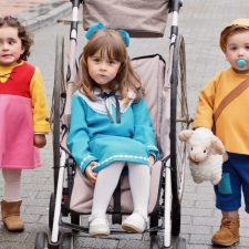 Heidi y los hermanos Zipi y Zape reaparecen en el Carnaval Infantil de Ribadesella