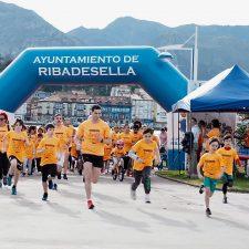 Casi doscientos riosellanos dedican la mañana del domingo a correr contra el cáncer infantil
