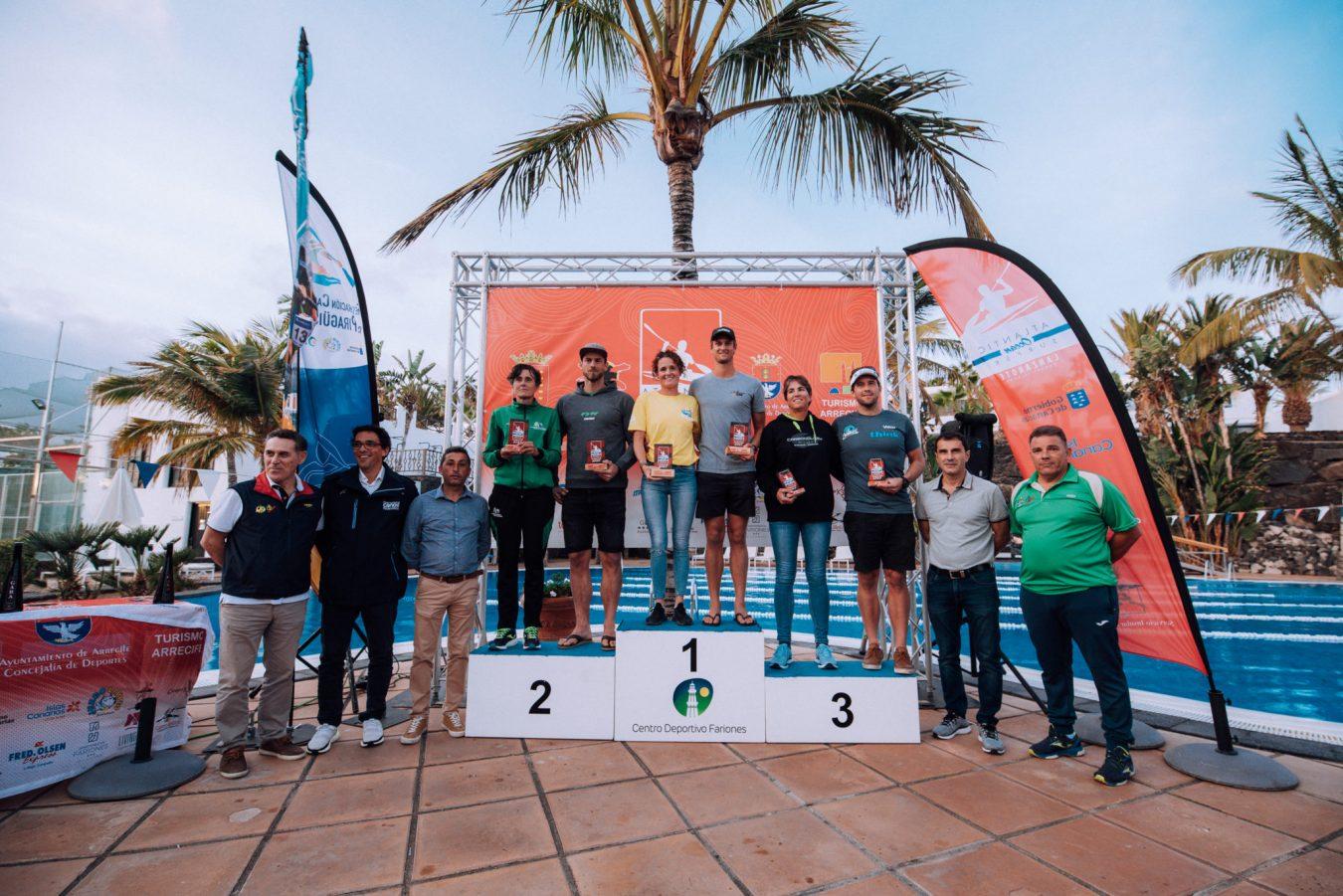 Sexto puesto para Walter Bouzán en la COPA del Mundo de Surfski disputada en Lanzarote