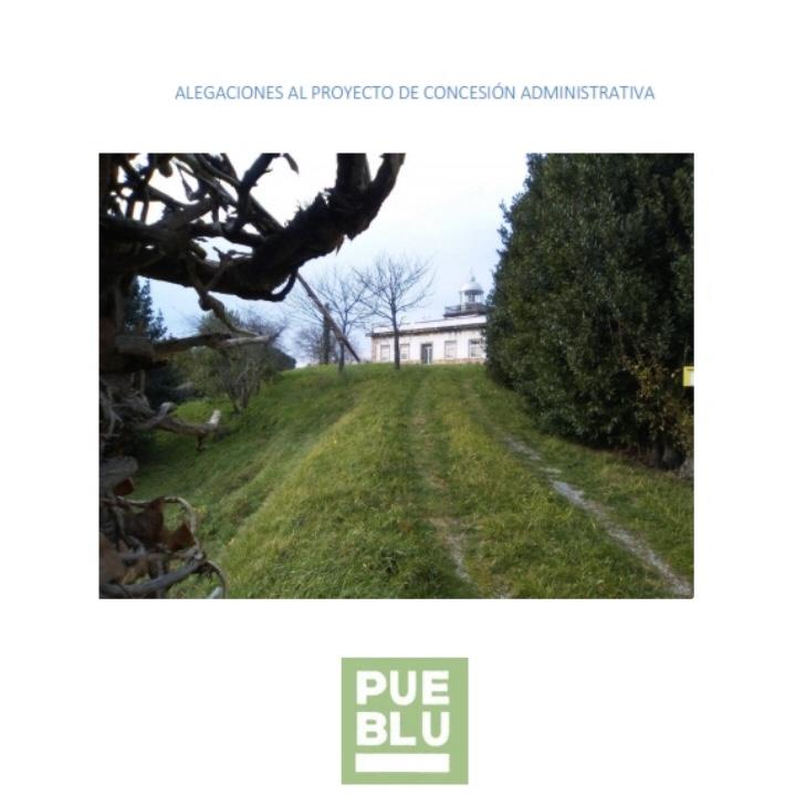 Pueblu se desmarca y presenta sus propias alegaciones contra el proyecto turístico para el Faro de Ribadesella