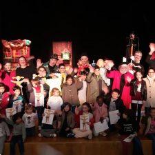 70 escolares de Colunga, Lastres y Caravia participan esta semana en Gijón de la Feria Europea de Artes Escénicas