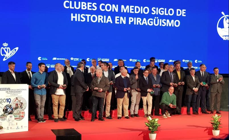 Gala Anual de la RFEP con distinción para los clubes con mas de 50 años y Salón de la Fama